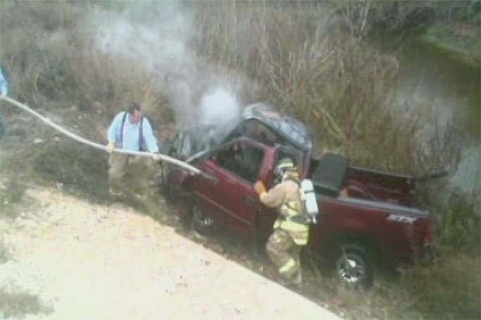 Texas man foretells dire outcome: messages 'I need to quit texting,' before driving into ravine