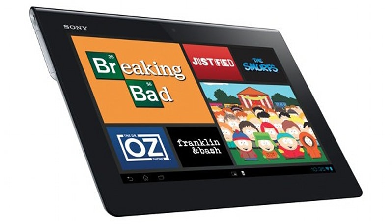 Sony Xperia Tablet S official: slimmed-down design, Tegra 3, IR remote and Android 4.0, starts at $400