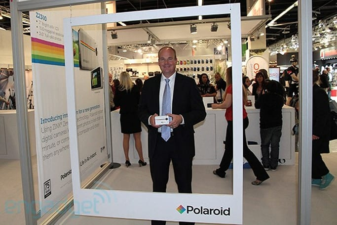 Live from the Engadget CES Stage: an interview with Polaroid's Scott Hardy (update: video embedded)