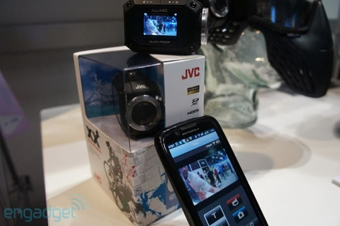 JVC's $349 ADIXXION camcorder is shipping now, packs LCD, WiFi and live Ustreaming (hands-on)
