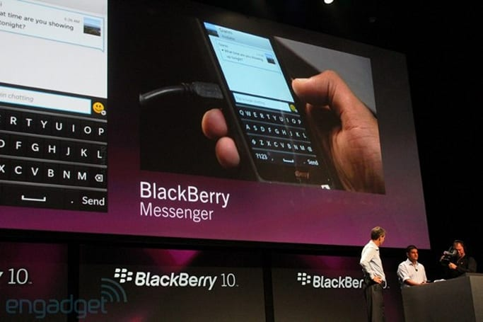 BBM for BlackBerry 10 gets a retooled UI, predictive keyboard with language detection