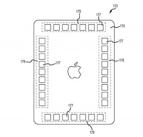 Apple patent application details method for detecting and displaying hand position on screen
