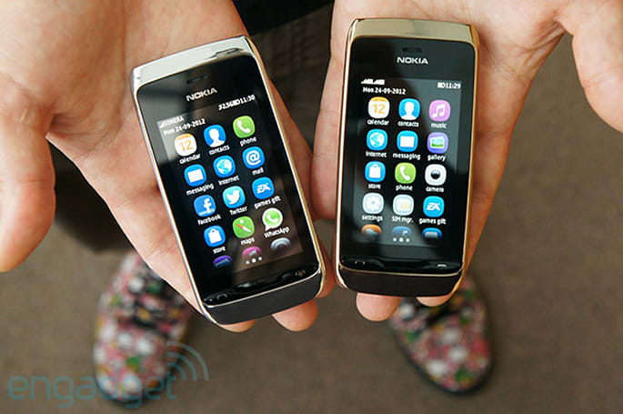 Hands-on with Nokia's Asha 308 and 309 (video)