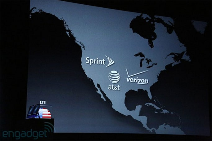 Apple announces worldwide carriers for iPhone 5: Sprint, AT&T and Verizon will support LTE in the US (update: No AWS HSPA+ for T-Mobile)