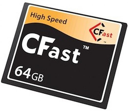 CompactFlash Association announces 600MB/sec CFast2.0 spec, SanDisk developing cards