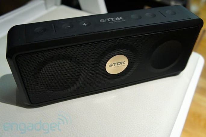 TDK preps its first weatherproof speaker, we go hands-on