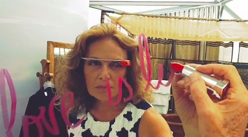 Google Glass shows how Diane von Furstenberg is living, what it's like at New York Fashion Week (video)