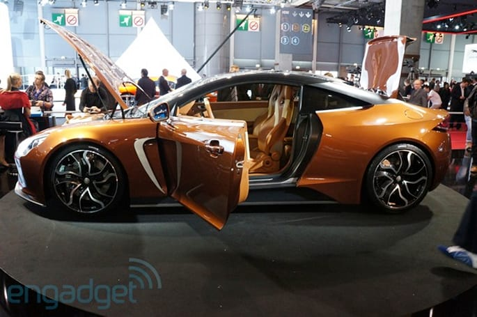 Exagon Motors Furtive-eGT electric supercar eyes-on