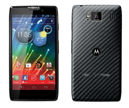 Verizon confirms Motorola RAZR HD and RAZR MAXX HD available October 18th