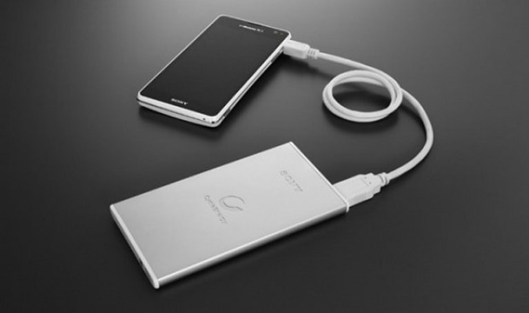 Sony announces new line of slim external batteries for smartphones and tablets