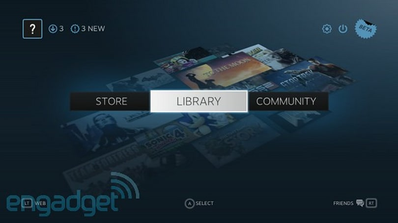 Steam Big Picture beta hands-on