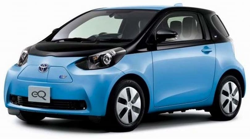 Toyota plans dialed-back launch of eQ and iQ EV city cars in December