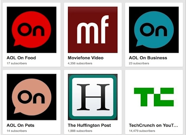 AOL strikes deal with YouTube to start streaming content from various brands