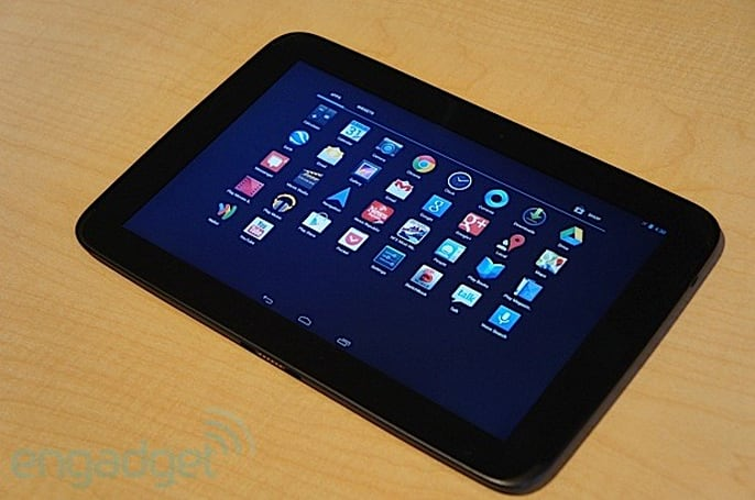 Google Nexus 10 hands-on (video)