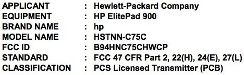 HP ElitePad 900 travels to the FCC, brings pros closer to Windows 8 tablet utopia