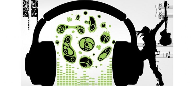 Microbial music: Using sound to represent data from the deep blue sea