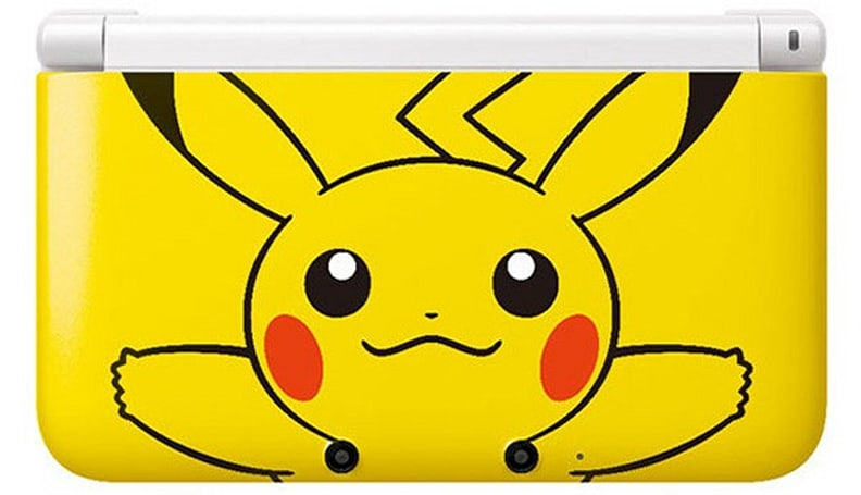 Pikachu Yellow 3DS XL coming to the US on March 24th, is super-effective against your eyes