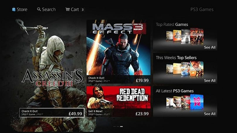 PlayStation Store redesign goes live in Australia, Europe and New Zealand with a rocky start