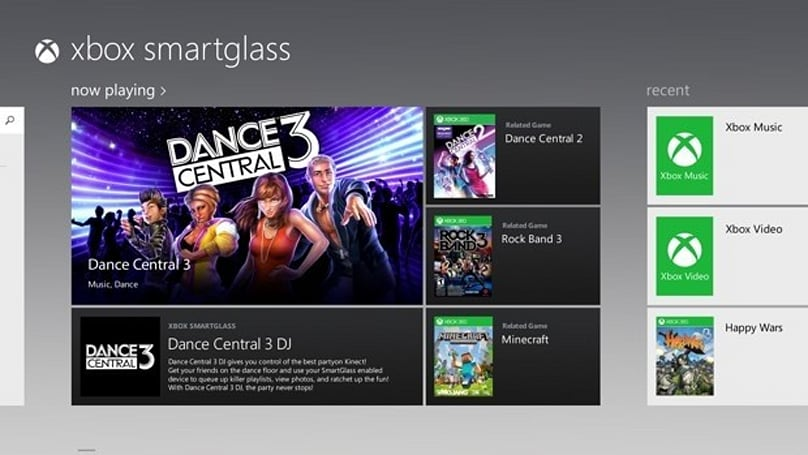 Xbox SmartGlass goes live alongside first Windows 8 tablets on October 26 with several supported apps