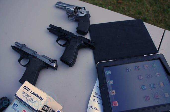 VestGuard UK Ballistic iPad Panel test: can this slate stop a bullet or two? (video)