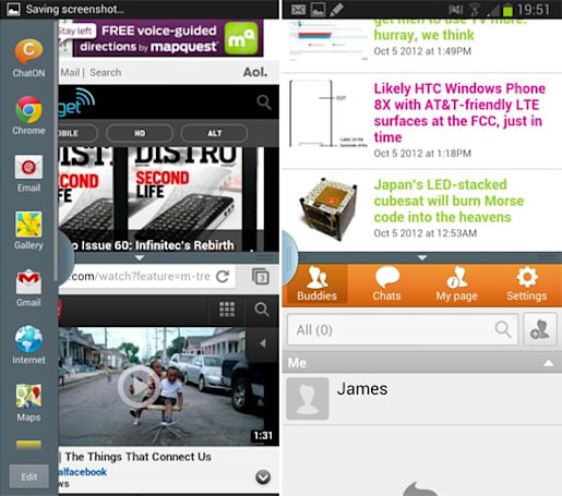 Sprint updates Samsung Galaxy Note II with Multi-Window feature