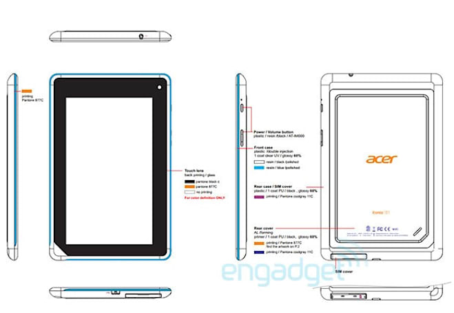 Acer eases Iconia B1-A71 Tab past FCC, GLBenchmark shows modest specs (update: pics)