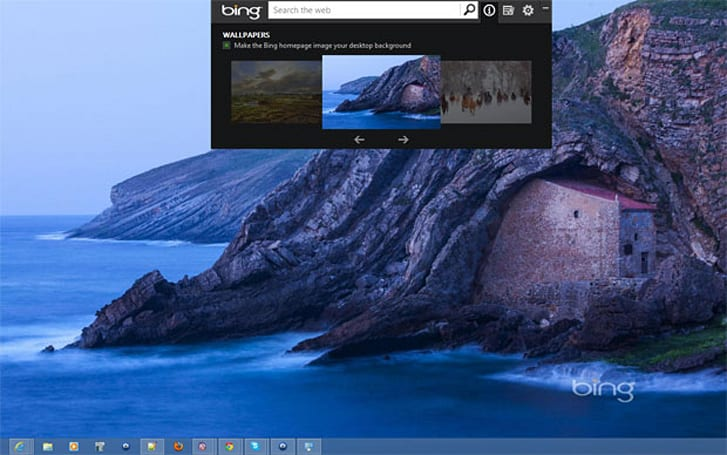 Microsoft updates Bing Desktop app for Windows XP and higher