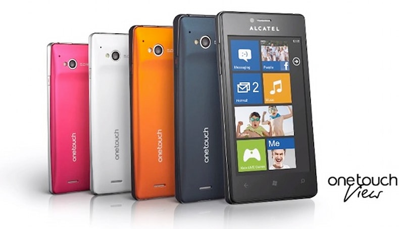 Alcatel's One Touch View with Windows Phone 7.8 somewhat teased in promo video