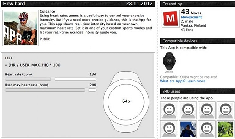 Suunto Ambit update lets athletes build their own GPS watch apps