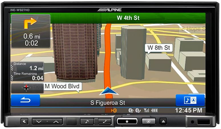 Alpine introduces INE-W927-HD AV and navigation system, Pandora, Sirius and more on a 7-inch touchscreen