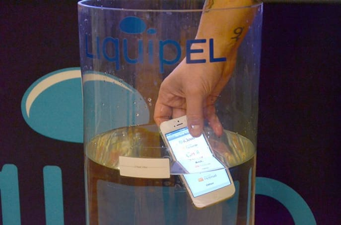 Liquipel 2.0 nanocoating debuts with improved water protection, matches IPX7 and beyond (video)