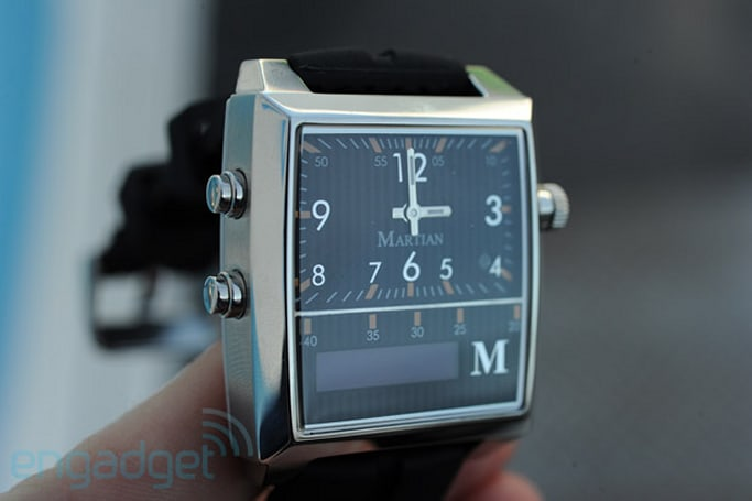 Martian Passport Watch mixes Bluetooth and class, ships by March for $299 (hands-on)