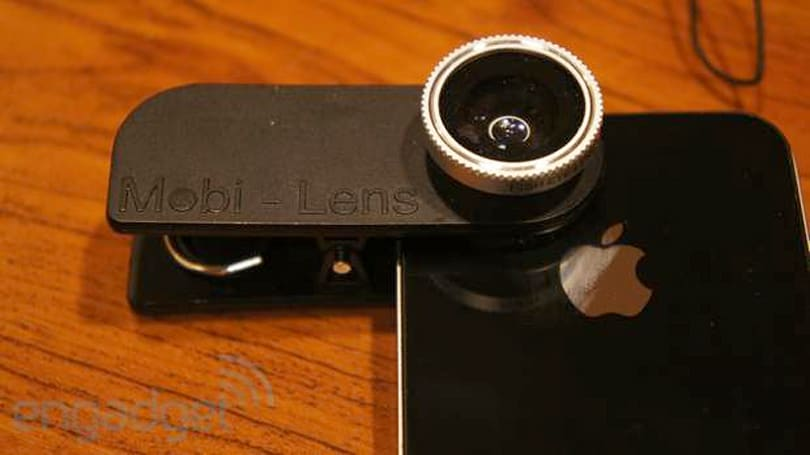 Mobi-Lens smartphone / tablet camera attachment hands-on