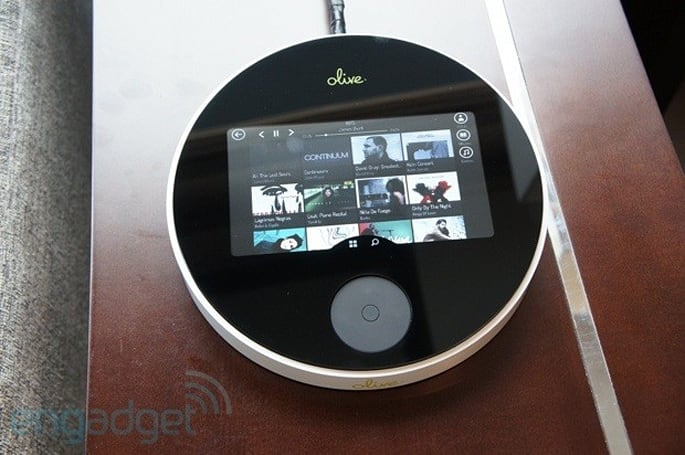 Olive One $400 high-fidelity streaming music player, hands-on
