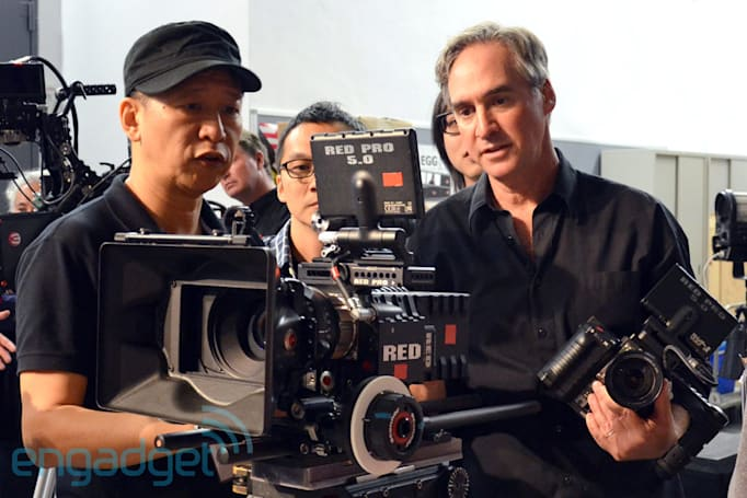 Live from the Engadget CES Stage: an interview with Red Digital Cinema's Ted Schilowitz (update: video embedded)
