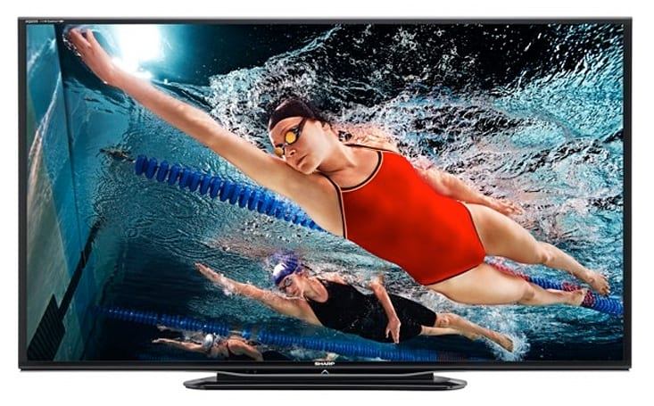 Sharp announces new 6-, 7- and 8-Series AQUOS LED TVs as