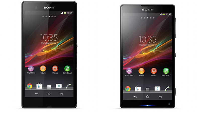 Sony Xperia Z 'Yuga' and ZL 'Odin' make a press shot debut on New Year's Day