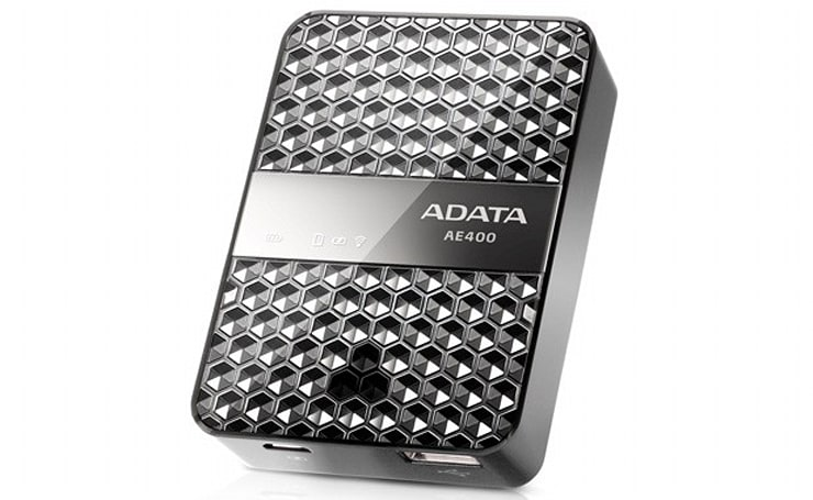 ADATA's Dash Drive Air brings power, streaming and bling to your phone