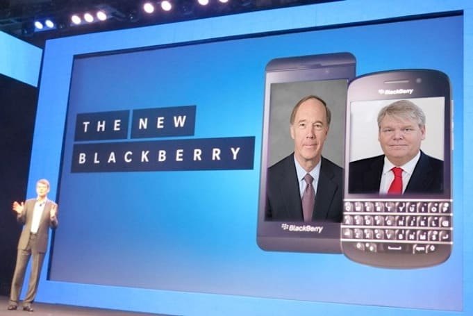 BlackBerry adds ex-Verizon, Sony Ericsson chiefs to its board of directors