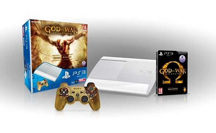 UK's God of War: Ascension PS3 bundle to include game themed controller, Kratos' wrath
