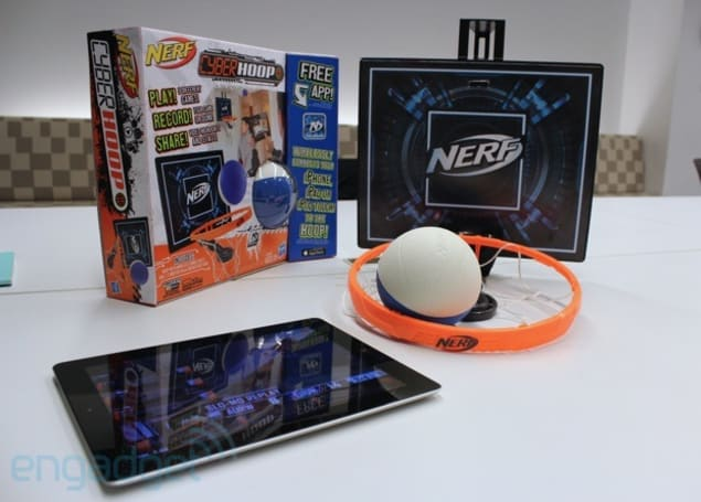 NERF Cyberhoop hands-on: foam basketball for the iPad generation