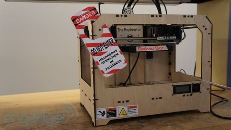 Visualized: NASA's MakerBot Replicator
