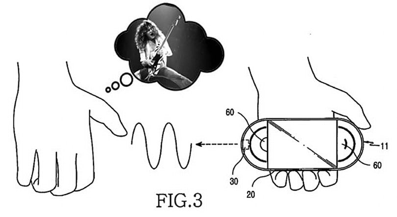 Samsung receives patent for music player that lets you add your own riffs