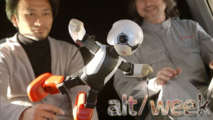 Alt-week 3.9.13: Sunstones, knotted vortices and a zero-g robot