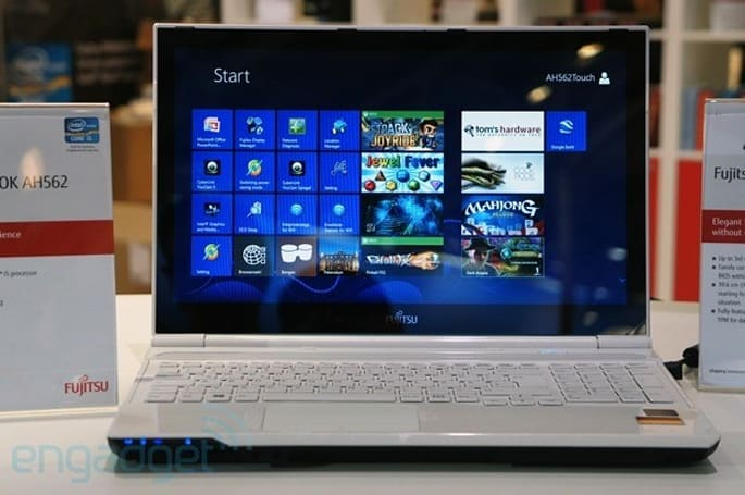 Fujitsu's German-made Lifebook AH562 turns up at CeBIT, we go hands-on
