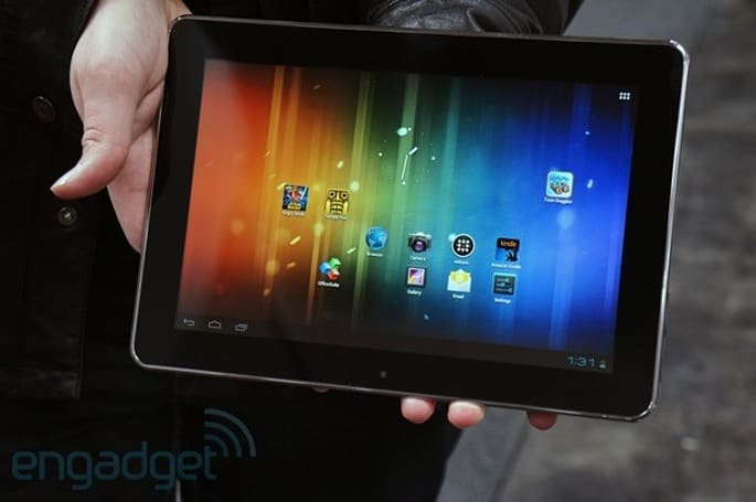 Coby goes nuts with the Google-certified tablets, we go hands-on