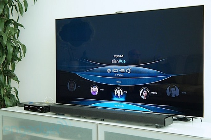 Myriad Social TV brings social networking to your cable box (hands-on video)