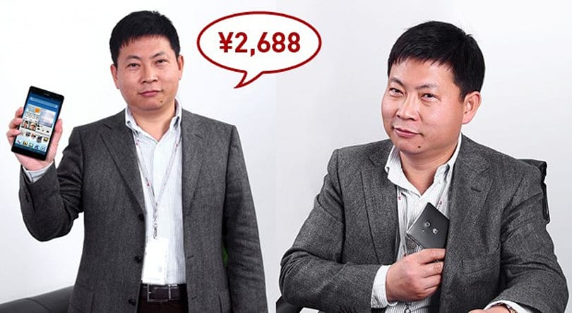 Huawei's 6.1-inch Ascend Mate priced in China, turns Yu into part-time model