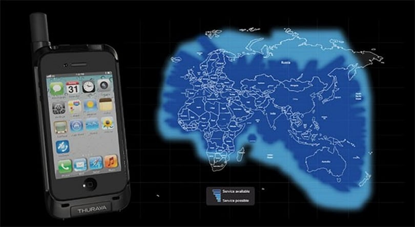 Thuraya's SatSleeve docks your iPhone onto its satellite network, charges it too (video)
