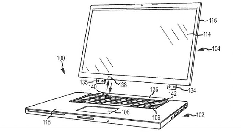 Apple tries for a patent on removable laptop touchscreens with wireless charging